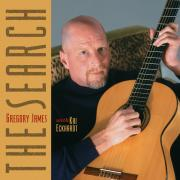 Gregory James with Kai Eckhardt - The Search - Valence Records - Cover Image